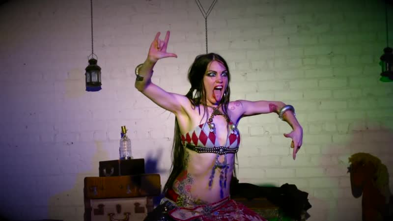 Zoe Jakes Solo Bellydance Live at the Vagabond 2012