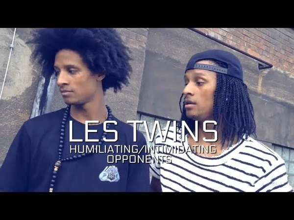 LES TWINS HUMILIATING INTIMIDATING OPPONENTS