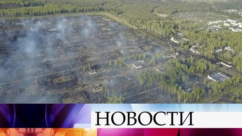 В Удмуртии сняли режим чрезвычайной ситуации в поселке Пугачево.