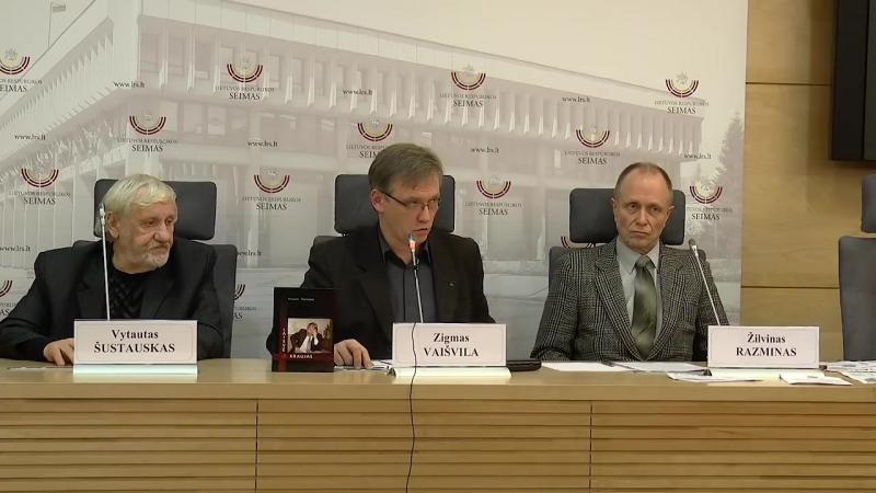 Spaudos konferencijoje LR Seime liudijimai apie teroristinių aktų organizatorius ir užsakovus, taip pat apie nedaug kam žinomus