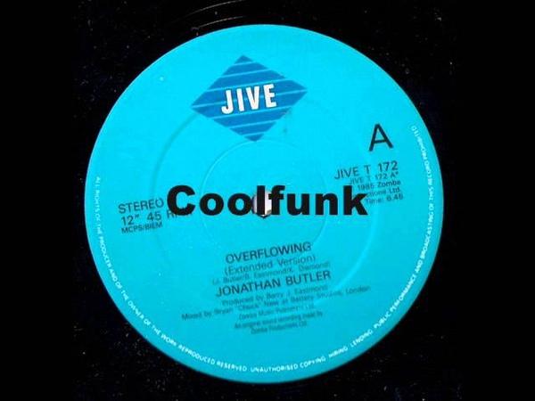 Jonathan Butler - Overflowing (12 Ballad-Funk 1987)