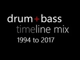 Drum n Bass timeline mix (1994-2017) 60 tracks!