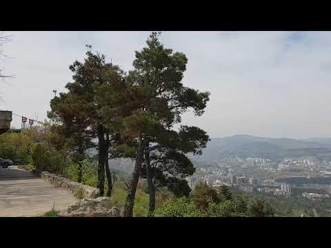 Тбилиси 2018. Вид на город с горы Мтацминда (18.04.2018)