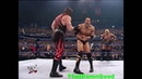 The Rock, Stone Cold, Undertaker vs Kurt Angle, Rikishi, Kane w/ HHH as Ref - Jan 18, 2001