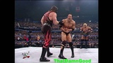 The Rock, Stone Cold, Undertaker vs Kurt Angle, Rikishi, Kane w HHH as Ref - Jan 18, 2001