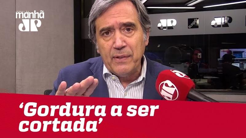 Não se apresenta reforma dizendo que ela possui 'gordura a ser cortada' Marco Antonio Villa