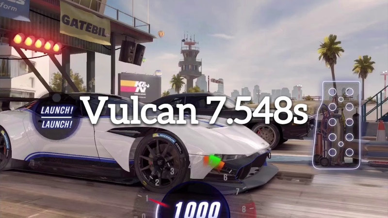 【CSR2】Vulcan, LB RS5 Coupe, Civic Type R, Fiesta ST, 4 live races of WR by BISBIS