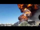 Неизвестные диверсанты взорвали нефтехранилище в Маарат-ан-Нумане (Идлиб) 13 августа 2018