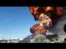 Неизвестные диверсанты взорвали нефтехранилище в Маарат-ан-Нумане (Идлиб) 13 августа 2018 :