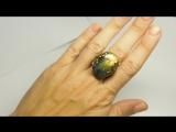 кольцо с лабрадоритом новая модель P7070195