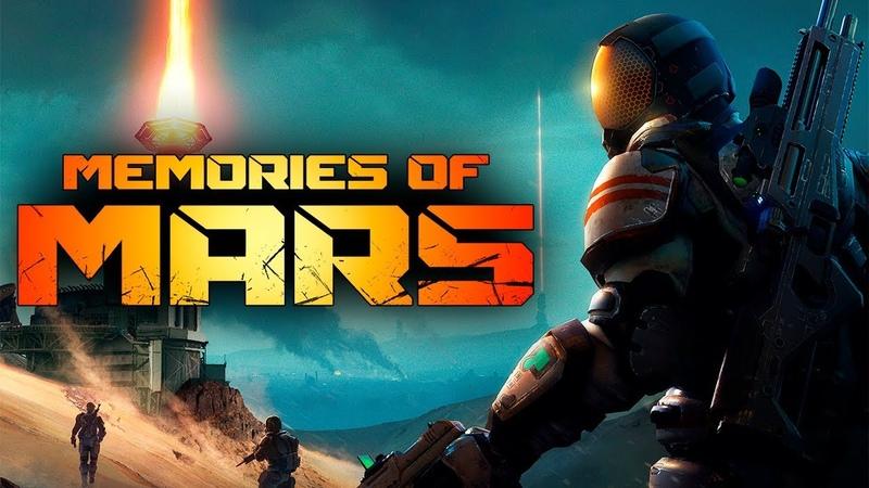 ВЫЖИТЬ НА МАРСЕ. РОБОТЫ АТАКУЮТ - MEMORIES OF MARS (ПЕРВЫЙ ВЗГЛЯД) 1