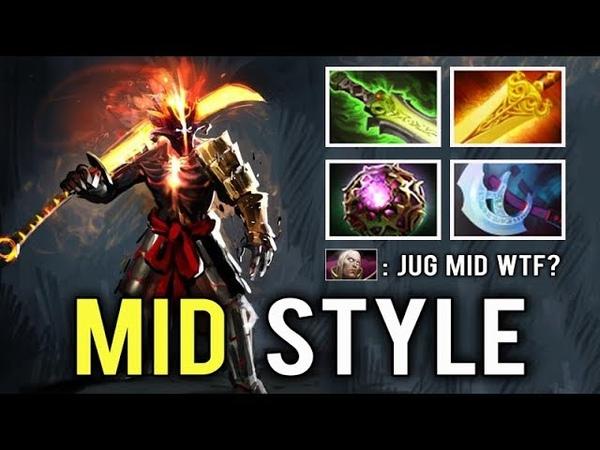 MID JUGGERNAUT IS HERE Blade Master Perfect Magic Build Counter All Nuker Team by RRQ.KoaLa Dota 2