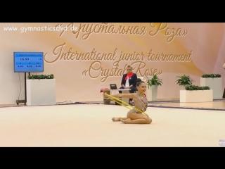 Лала Крамаренко - финал (обруч) // Международный турнир 2018, МИнск