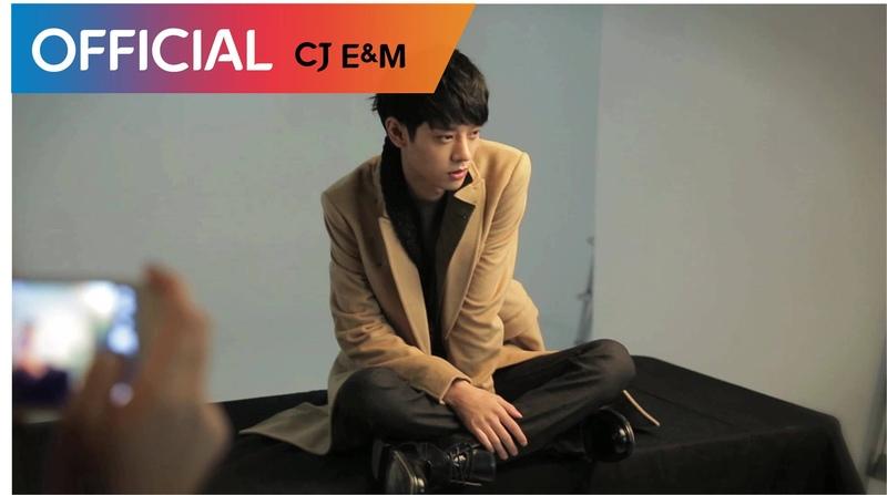 정준영 Jung Joon Young 첫번째 미니앨범 자켓촬영 현장 1st MiniAlbum Jaket Photoshoot Making Flim