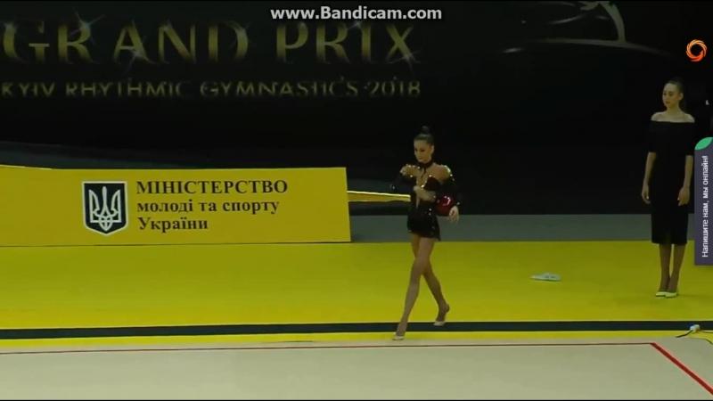 Meleshchuk Yeva Ball AA - Grand Prix Deriugina Cup 2018