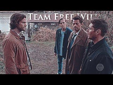 Team Free Will Supernatural 13x23