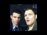 Joseph Morgan and Daniel Gillies pranks on set