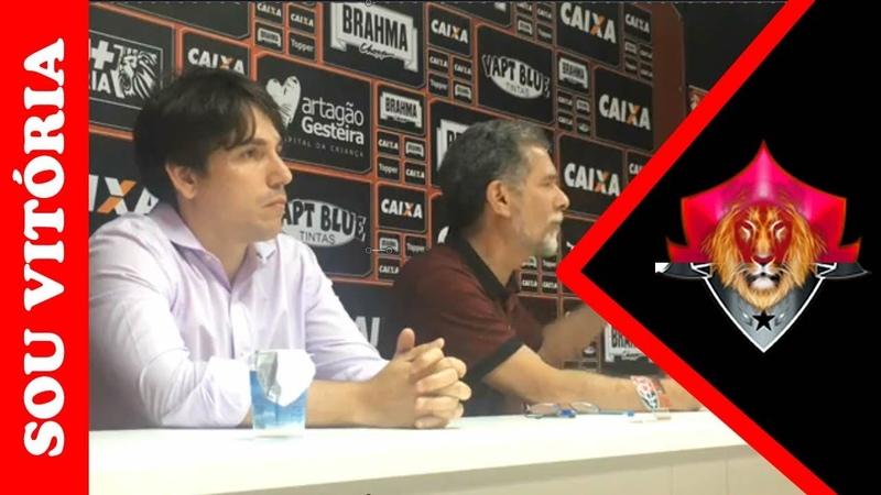 Coletiva: Ricardo David nega renúncia e diz que está aberto a apoio 27/11/2018