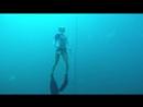 Моя русалка сделала сегодня норматив по глубине 27 метров и на шаг приблизилась к званию ПАДИ Мастер Фридайвер