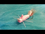 Tying a Pink Lady Hopper with Martyn White (Dry fly)
