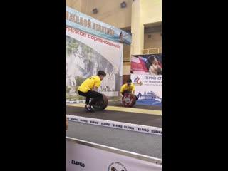 Live: Тяжелая атлетика г. Владимир