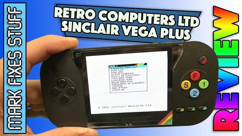 Sinclair Vega Plus Handheld - One Week Review - Vega - RCL - Retro Computers Ltd