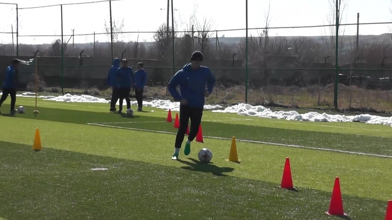 Тараз U21. Видео с тренировки