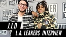 J.I.D Talks Working w/J.Cole, Explains Dicaprio 2 Cover Art Lists Top 5 Projects of 2018