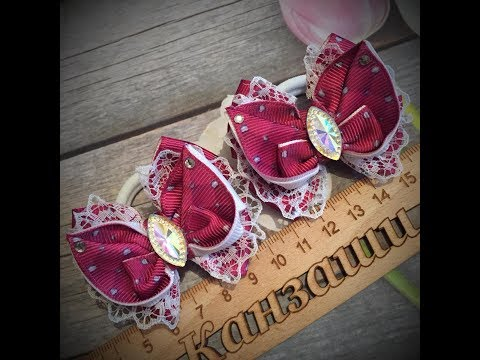 Бантики Бабочки- с 2,5 см лентой