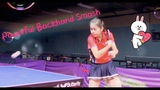How to Play Powerful Backhand Smash