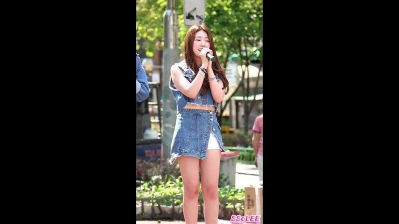150829 포텐 (POTEN) - 멤버 및 SNS 소개 @ 홍대 버스킹 직캠 By SSoLEE