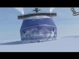 Новейший российский атомный ледокол Лидер
