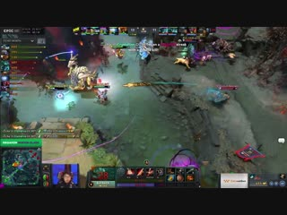 Natus Vincere vs PSG.LGD, map 2