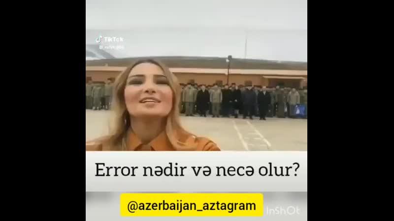 Azerbaycan ordusuna hele bele komanda veren olmamişdır😉😉