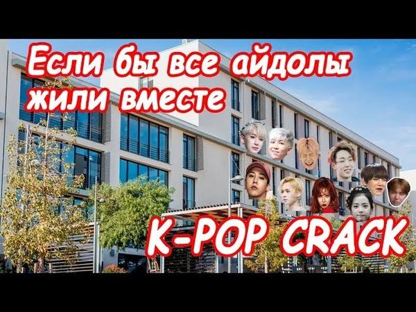 K-pop Crack 4.1 | Если бы все айдолы жили в одной общаге 1