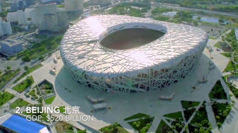 Top 10 Richest Cities in China 2018