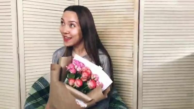 Типы девушек,которым дарят цветы
