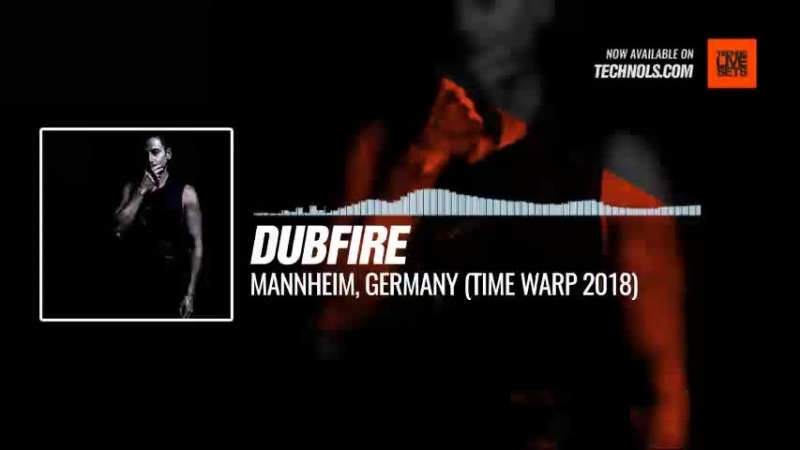 Techno music with @dubfire - Mannheim, Germany (Time Warp 2018) Peiscope