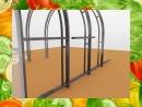 выгодное предложение Тепличные конструкции Очень Крепко Оставьте на бесплатное хранение у нас на складе в течение 3 месяцев