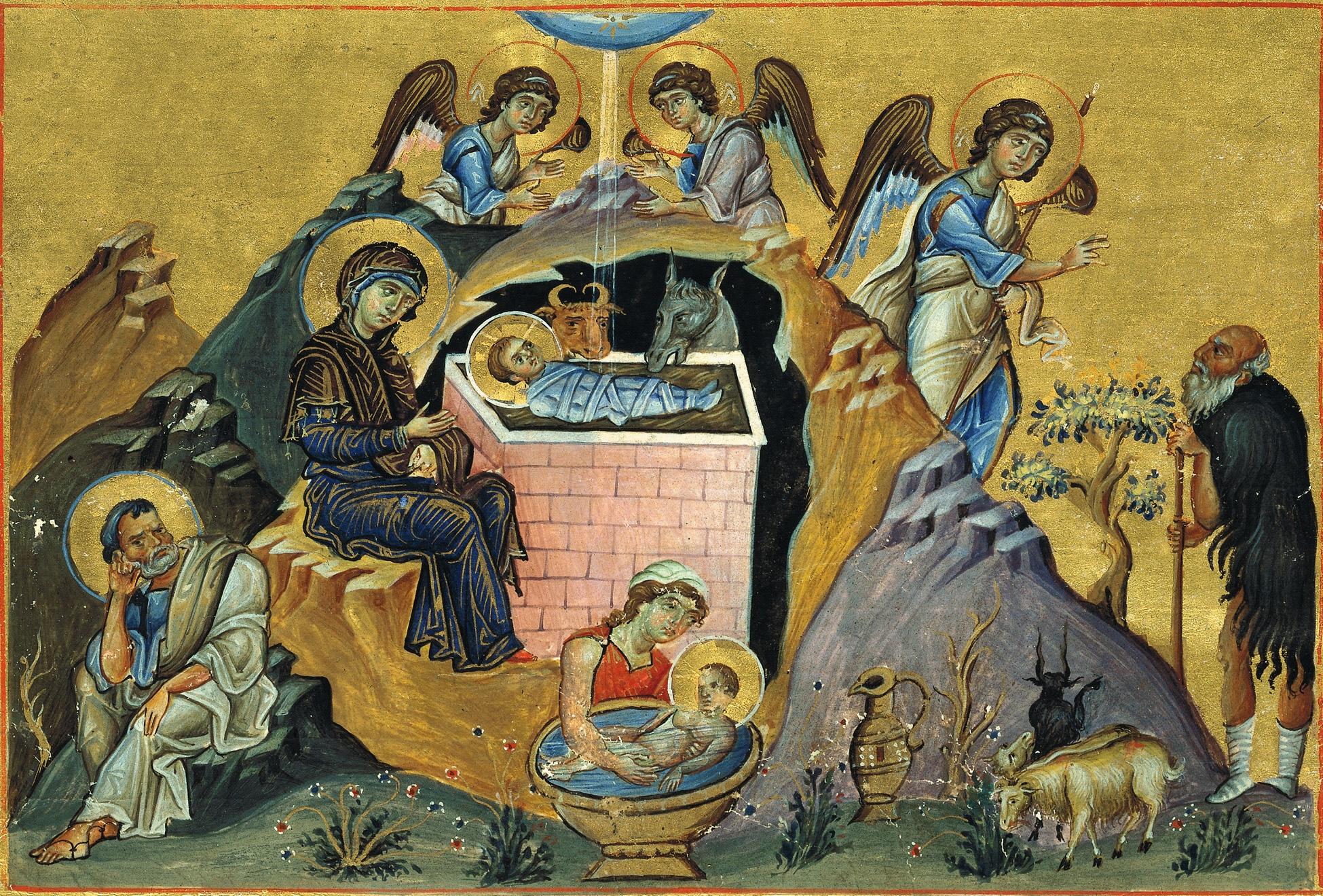 Проповедь о Рождестве Христовом: Христов мир.