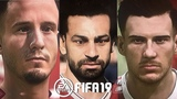 FIFA 19 - OVER 290 NEW PLAYER FACES