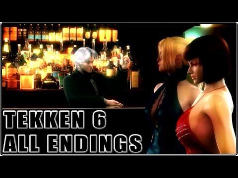 Tekken 6 All Endings HD 1080P 60FPS