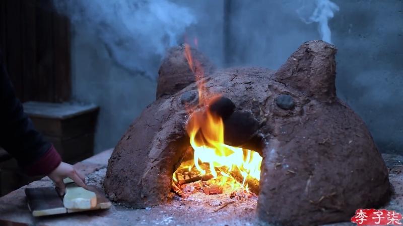 Ли ЦзыЦи - ДЕВУШКА С ХАРАКТЕРОМ! Хлебная печь (духовка) своими руками!
