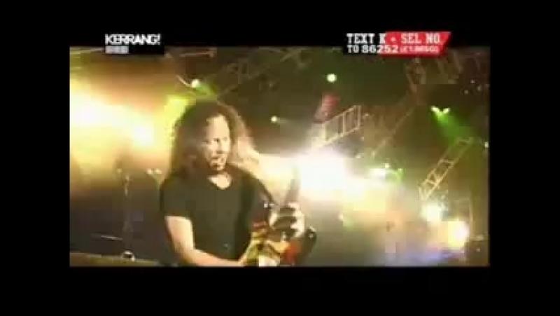 Metallica and Joye Jordison Slipknot Enter Sandman Live 2004 2004 Other