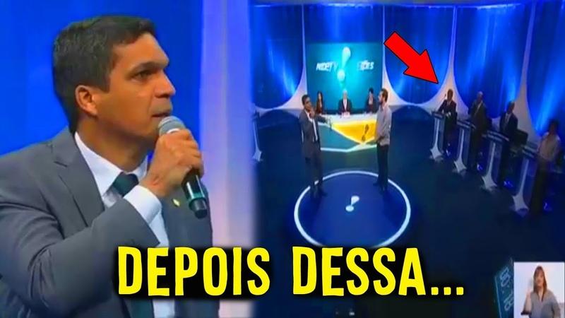 CABO DACIOLO NO DEBATE NA REDE TV DEIXOU OS OUTROS CANDIDATOS SEM GRAÇA