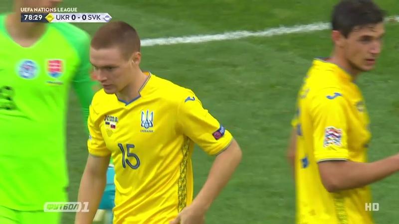Україна 10 Словаччина. Огляд матчу