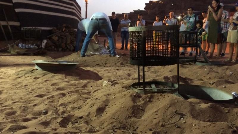 Ужин у бедуинов, Вади-Рам, 🇯🇴