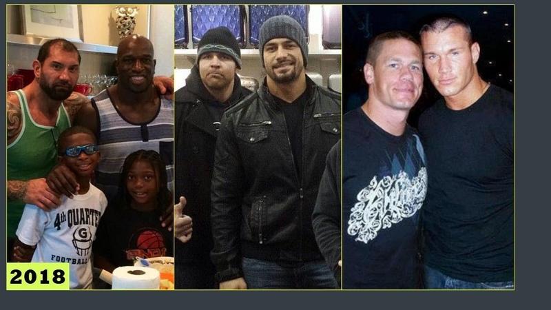 Top 10 WWE Close Friends in Real Life 2018 - Roman Reigns, Braun Strowman, Dean Ambrose.. [HD]