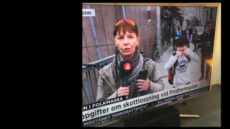 Migranter firar terrorattacken - noll nyhetsvärde för Aftonbladet