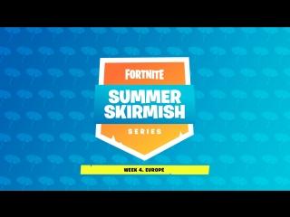 Summer skirmish. неделя 4, европа